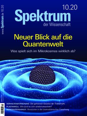 Spektrum der Wissenschaft (10/2020)