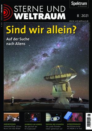 Sterne und Weltraum (08/2021)
