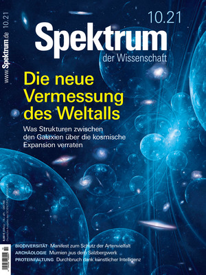 Spektrum der Wissenschaft (10/2021)
