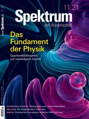 Spektrum der Wissenschaft (11/2021)