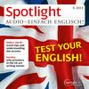 Spotlight Audio - Test your English!
