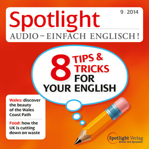 Spotlight Audio - 8 Tips & Tricks for your English