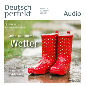 Deutsch perfekt Audio - Small-Talk-Thema Wetter