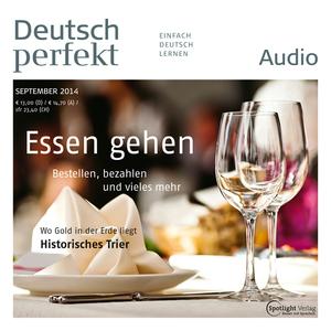 Deutsch perfekt Audio - Essen gehen