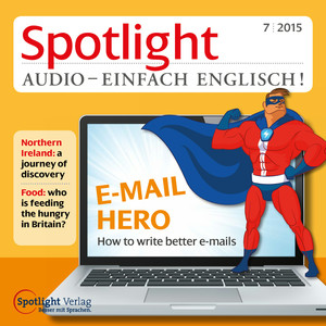 Spotlight Audio - einfach Englisch! - E-Mail Hero