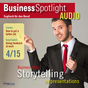 Business Spotlight Audio - storytelling in presentations