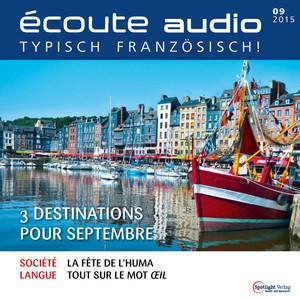 Écoute Audio - 3 destinations pour septembre