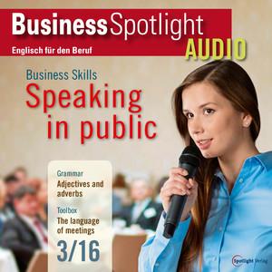 Business Spotlight Audio - Speaking in public