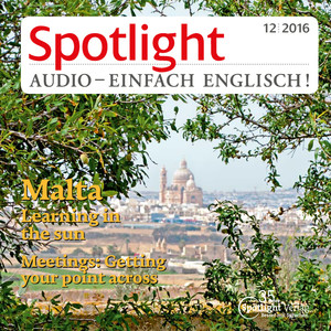 Spotlight Audio - einfach Englisch! - Malta, learning in the sun