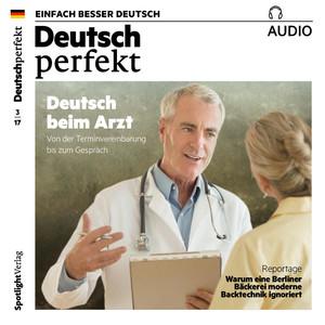 Deutsch perfekt Audio - Deutsch beim Arzt
