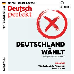 Deutsch perfekt Audio - Deutschland wählt