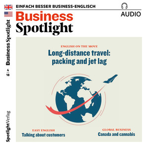 Business Spotlight Audio - Long distance travel: packing and jet lag
