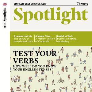 Spotlight Audio - Test your verbs