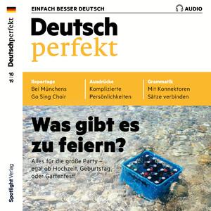 Deutsch perfekt - Was gibt es zu feiern?