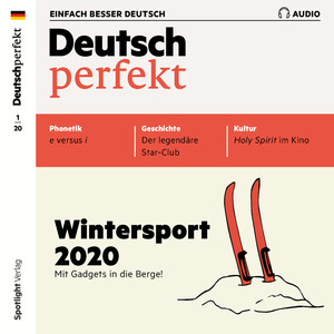 Deutsch perfekt Audio - Wintersport 2020