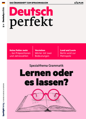 Deutsch perfekt plus (11/2020)
