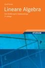 Vergrößerte Darstellung Cover: Lineare Algebra. Externe Website (neues Fenster)