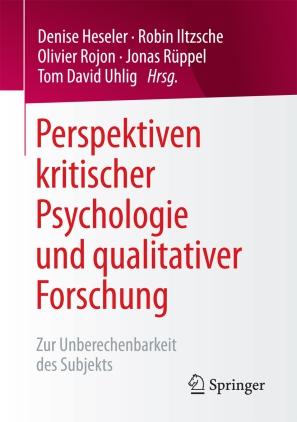 Perspektiven kritischer Psychologie und qualitativer Forschung