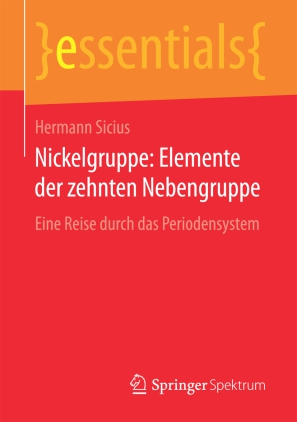 Nickelgruppe: Elemente der zehnten Nebengruppe