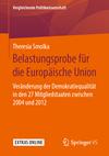 Belastungsprobe für die Europäische Union