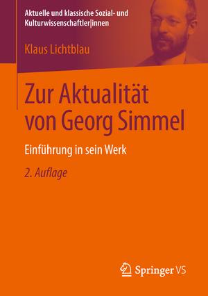 Zur Aktualität von Georg Simmel