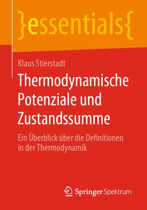 Thermodynamische Potenziale und Zustandssumme