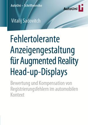 Fehlertolerante Anzeigengestaltung für Augmented Reality Head-up-Displays