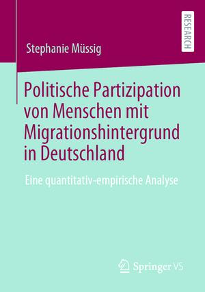 Politische Partizipation von Menschen mit Migrationshintergrund in Deutschland