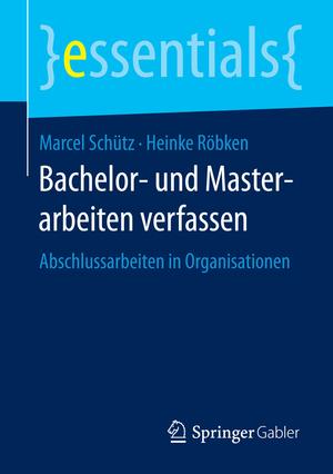 Bachelor- und Masterarbeiten verfassen
