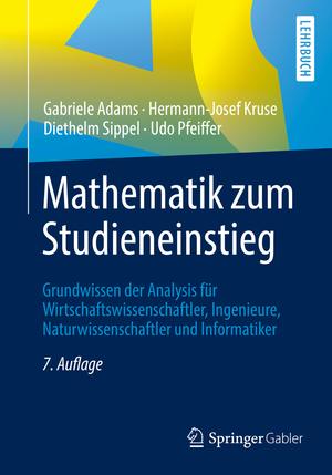 Mathematik zum Studieneinstieg