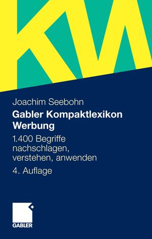 Gabler-Kompaktlexikon Werbung