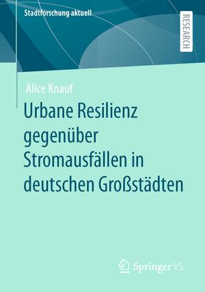 Urbane Resilienz gegenüber Stromausfällen in deutschen Großstädten