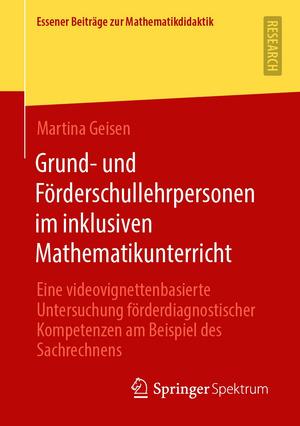 Grund- und Förderschullehrpersonen im inklusiven Mathematikunterricht