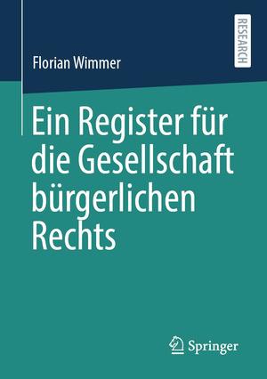 Ein Register für die Gesellschaft bürgerlichen Rechts