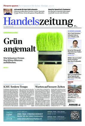 Handelszeitung (08/2021)