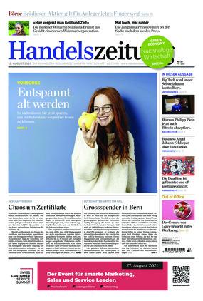 Handelszeitung (33/2021)