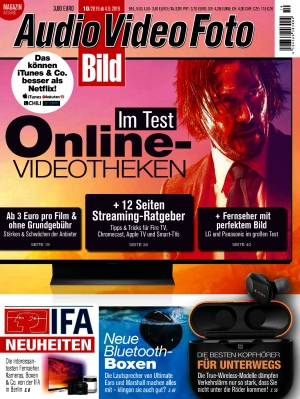 Audio Video Foto Bild (10/2019)