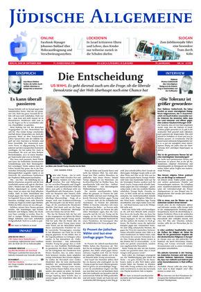 Jüdische Allgemeine 44/2020 (29.10.2020)