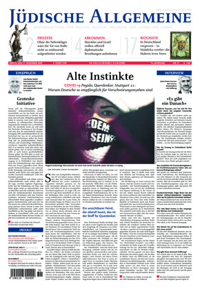 Jüdische Allgemeine 51/2020 (17.12.2020)