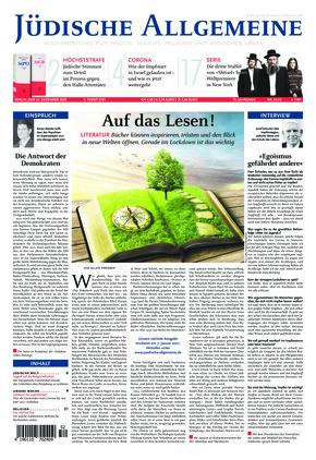 Jüdische Allgemeine 52/2020 (23.12.2020)