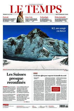 Le Temps (14.01.2021)