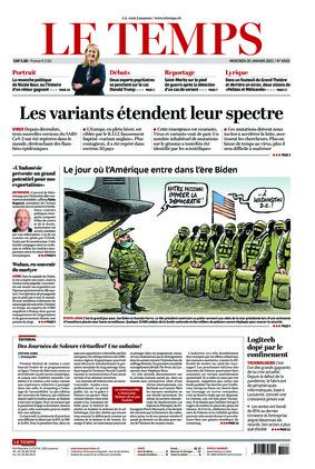Le Temps (20.01.2021)