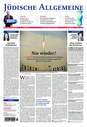 Jüdische Allgemeine 03/2021 (21.01.2021)