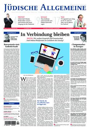 Jüdische Allgemeine 04/2021 (28.01.2021)