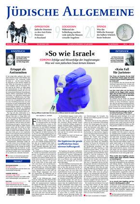 Jüdische Allgemeine 06/2021 (11.02.2021)