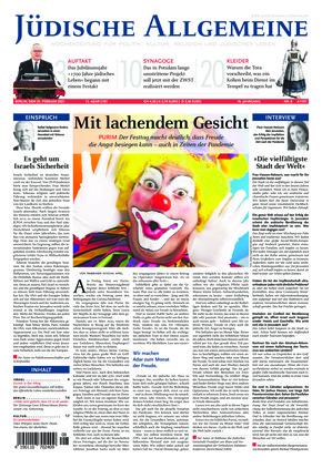 Jüdische Allgemeine 08/2021 (25.02.2021)