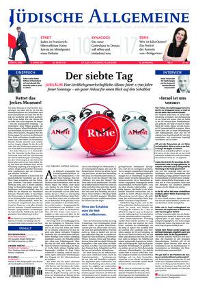 Jüdische Allgemeine 09/2021 (04.03.2021)