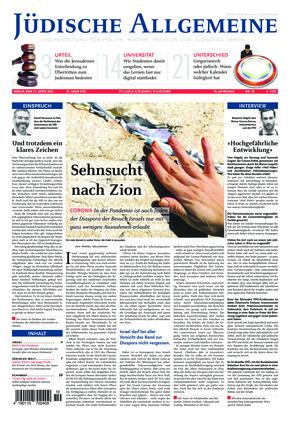 Jüdische Allgemeine 10/2021 (11.03.2021)
