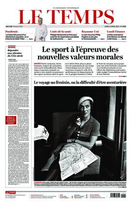 Le Temps (12.04.2021)