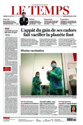 Le Temps (20.04.2021)